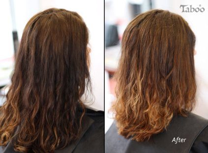 Balayage highlighting style by Tina Fox