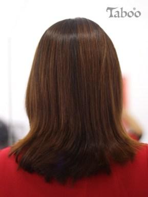 hair colour result