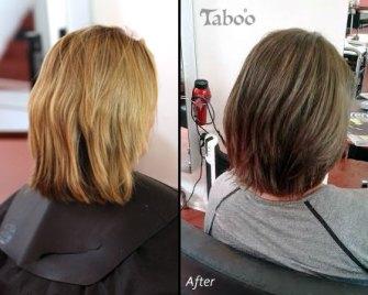 Hair highlighting style