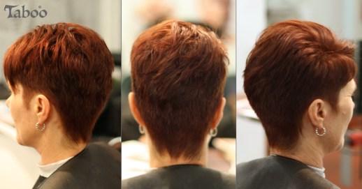 Modern Short Haircut Style