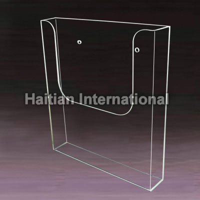 A4 wall mounted acrylic leaflet holder manufacturers  A4 wall     Wall Mounted Acrylic Brochure Holder