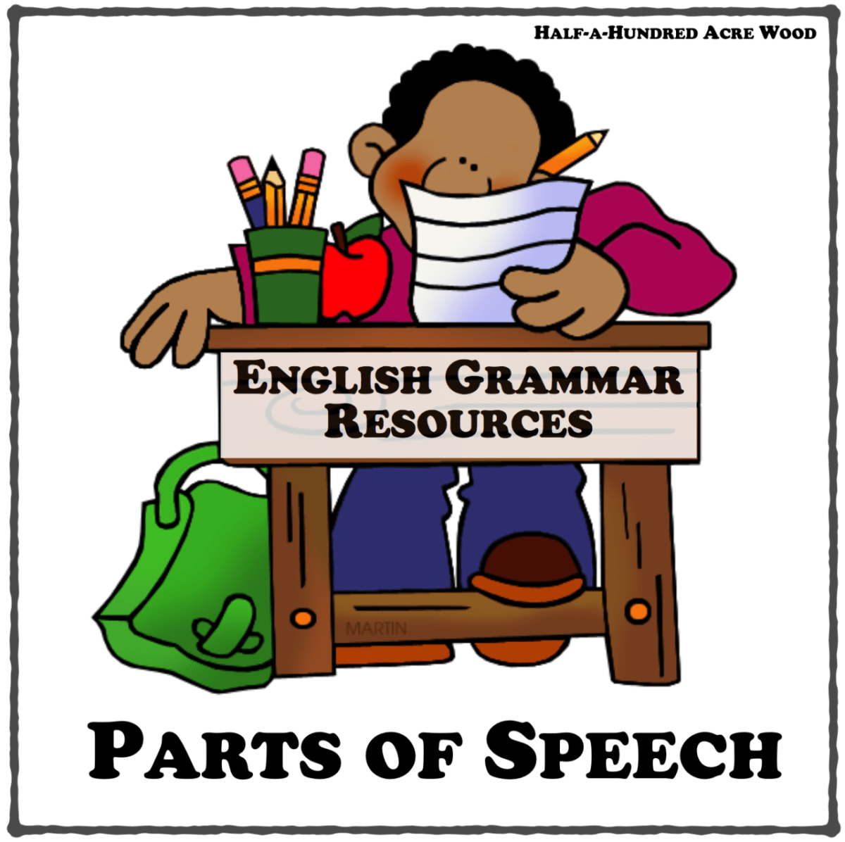 English Grammar Resources: Parts of Speech