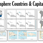 Americas & Antilles Countries Capitals Flashcards