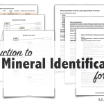 Mineral Identification Stations & Flowchart