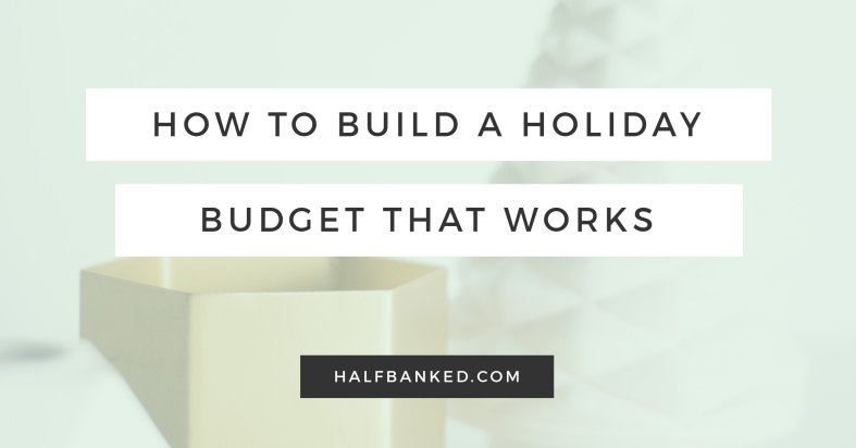 How to build a holiday budget that works, without giving up lattes to do it.