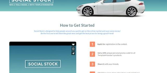 TemplateMonster Social Stock: $70k Rewards For $0 Investment