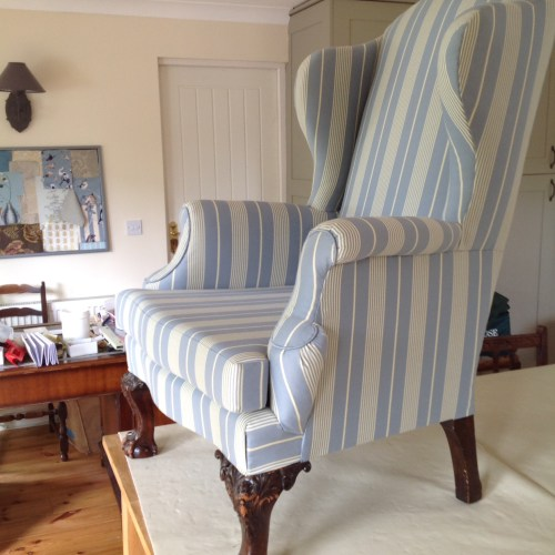 Re-upholstery by Halliwell Upholstery