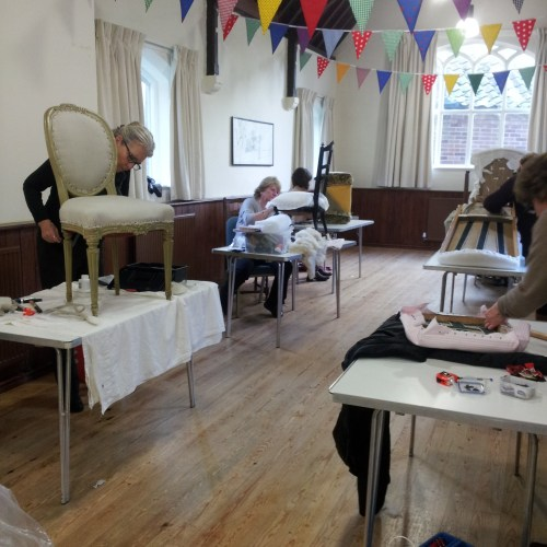 The Upholstery Class in Collingham