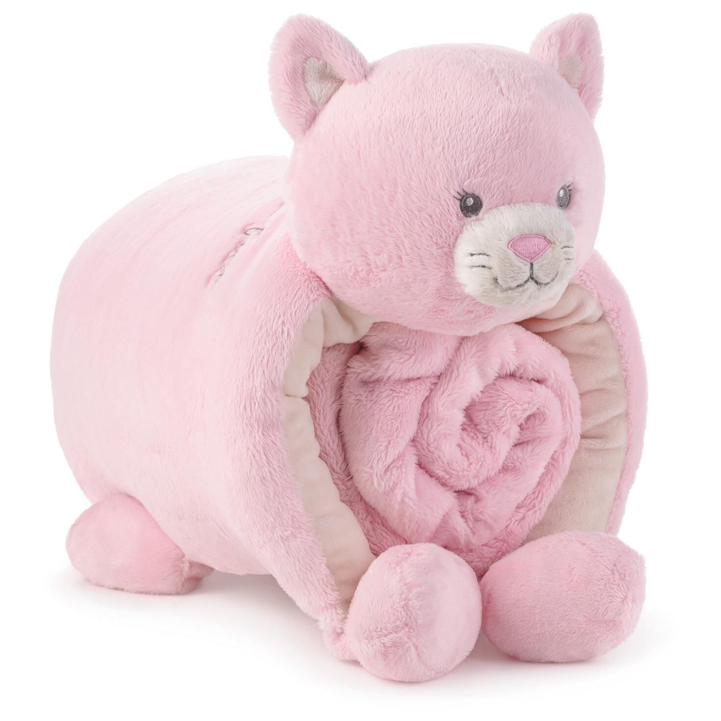 Enthralling Blanket Set Root 1bby4497 1470 1 Stuffed Animals Pink Kitty Pillow Allergies Stuffed Animals On Amazon baby Best Stuffed Animals