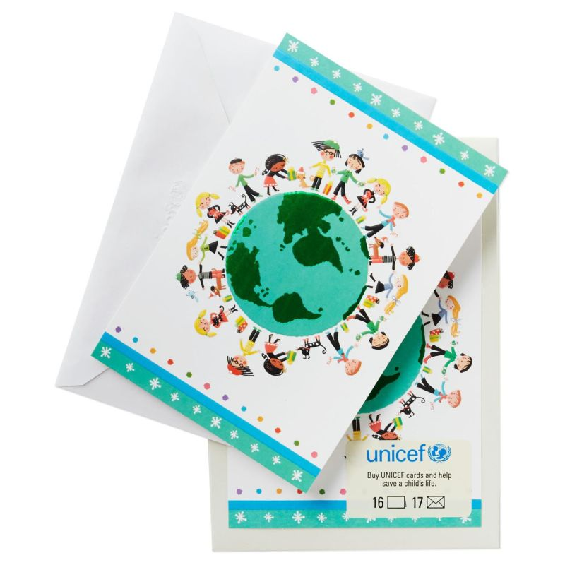 Teal Uf Kids Around World Box Boxed Hallmark Cards Amazon Hallmark ...