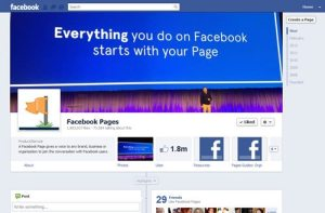 New FB timeline
