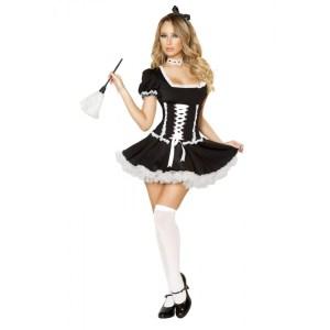 4pc Mischievous Maid Costume