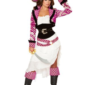 5pc Precious Pirate Costume