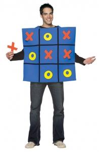 Adult Tic Tac Toe Costume