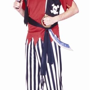 Buccaneer Pirate Adult Mens Costume
