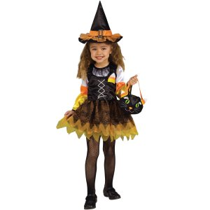 Candy Corn Witch Toddler Costume