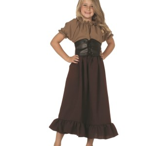 Child Renaissance Peasant Girls Costume