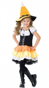 Girl's Candy Corn Costume