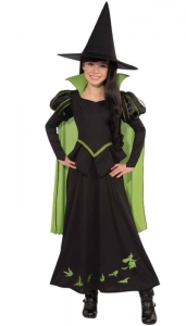 Girl's Wizard Of Oz - Wicked Witch Costume