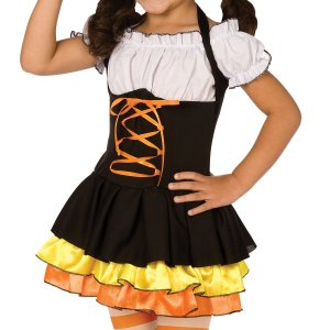 Little Candy Corn Witch Toddler/Child Costume