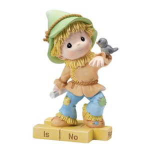 """There Is No Place Like Home"" Scarecrow Figurine"