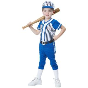 Boys Baseball Player Costume For Toddlers