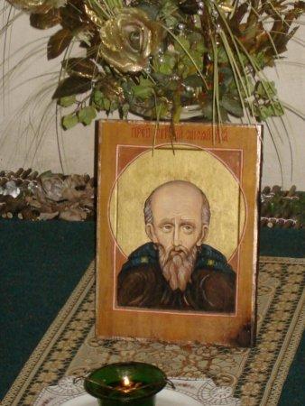 Икона преподобного Антония Сийского