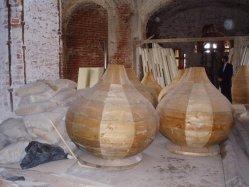 Купола Успенского храма