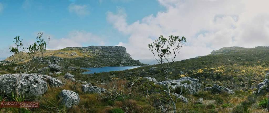 View of Table Mountain Nature Reserve via Constantia Nek