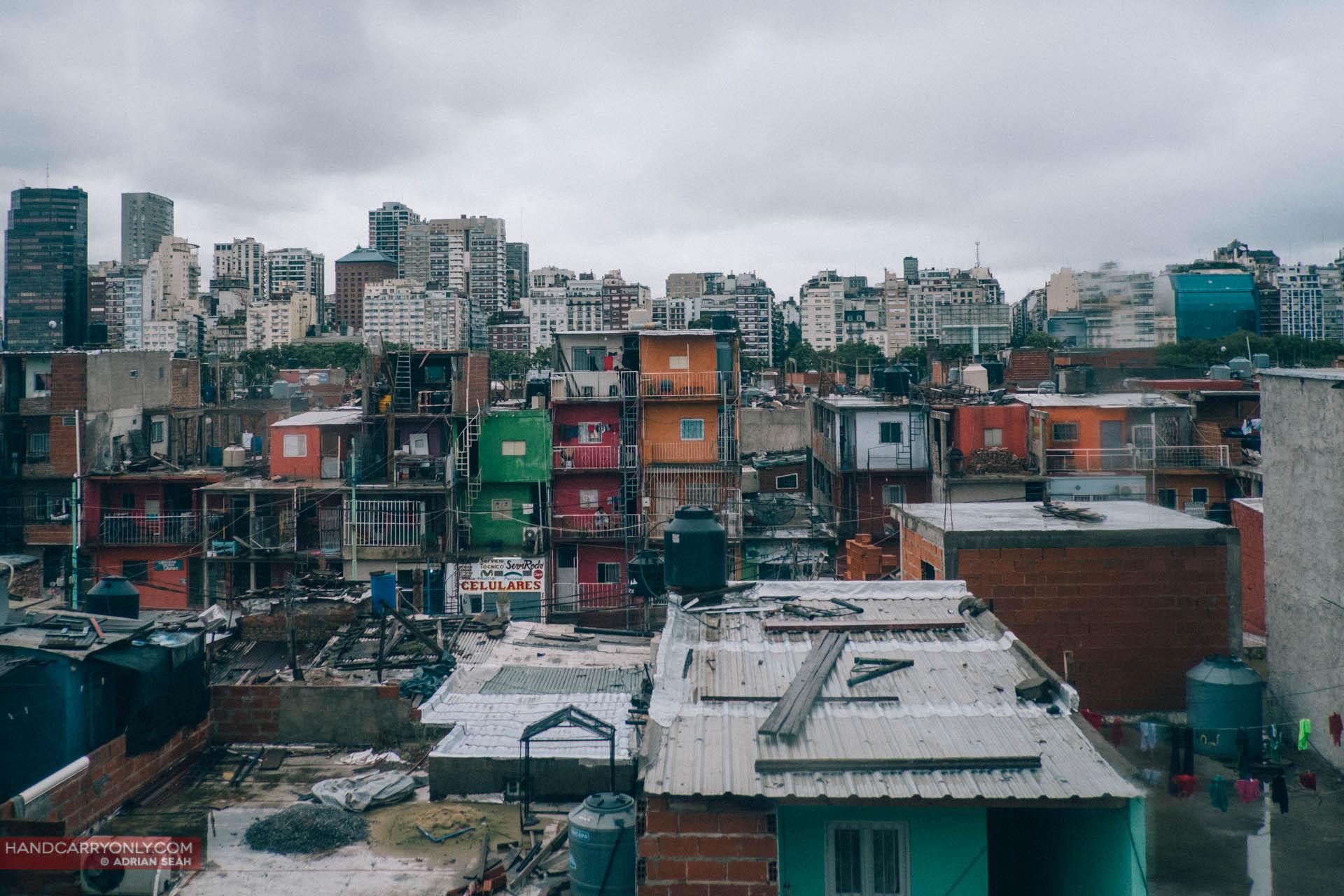 la miseria, the slums of buenos aires