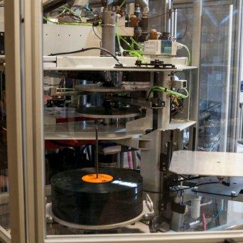 "WarmTone : Hand Drawn Pressing ""Vinyl Record Manufacturer"" Spring 2017 // Courtesy Austin James, CrateDiggersDallas.com"