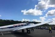 Historisk Boeing fly fløy for siste gang
