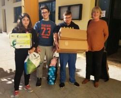 Η Μαριάννα από την Ολλανδία και το Γυμνάσιο Βάμου εν δράσει για το «Κουτί του Παπουτσιού»