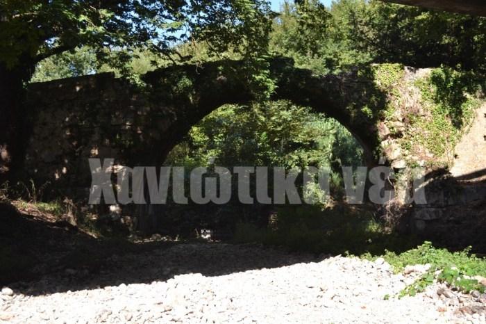 Η παλαιότερη γέφυρα στον νομό Χανίων χρονολογείται από τα ελληνιστικά χρόνια