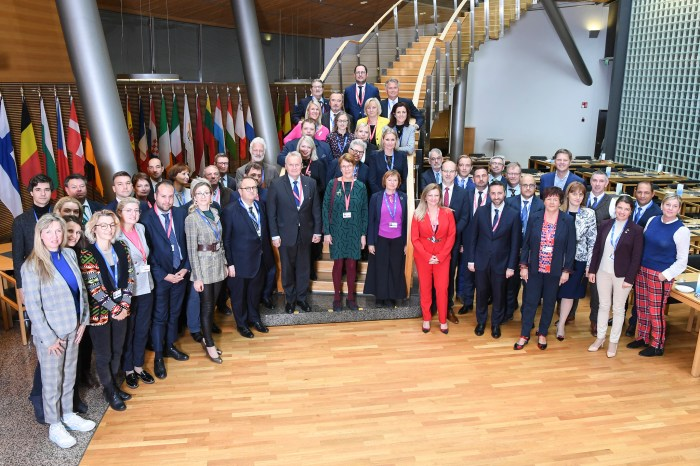 20191006 Inter-parliamentary Conference on Climate Change, 6—7 October 2019. Family photo.