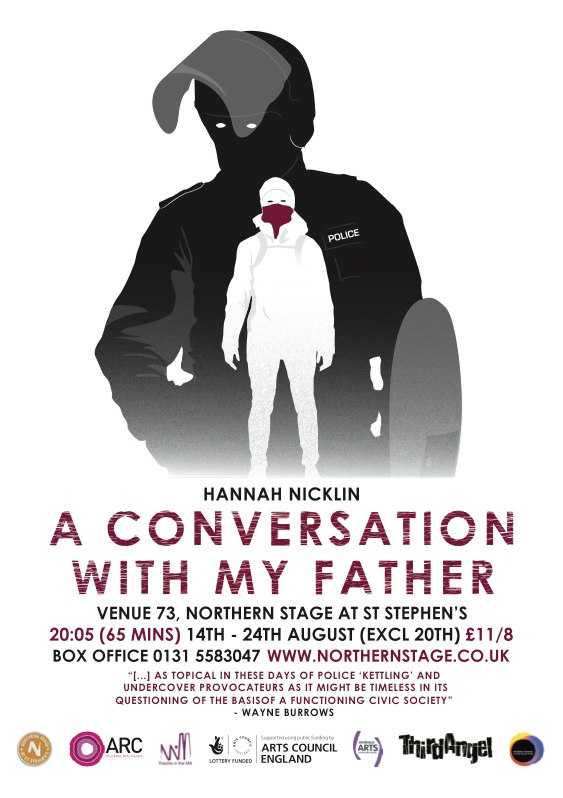 a conversation with my father poster by Lee Keith Innes