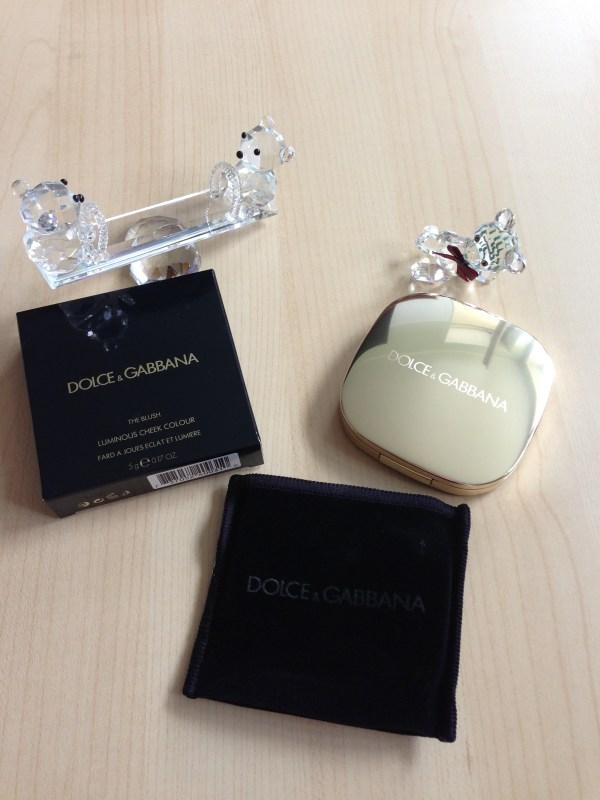 Dolce and Gabbana blush