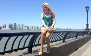 Max Azria skirt & Gotha top
