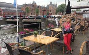 Amsterdam city & Gucci scarf