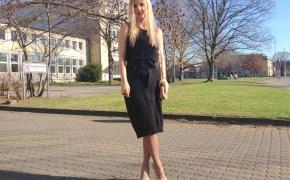 Swarovski ring & Sisley dress