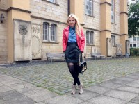 ASOS Lederrock & Fashion Blogger