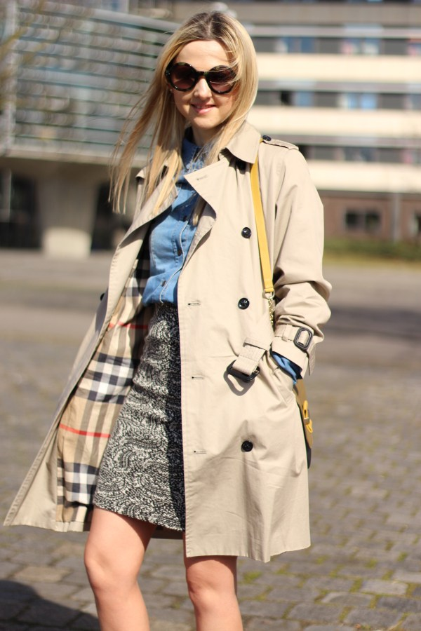 See by Chloe Tasche & Burberry Mantel