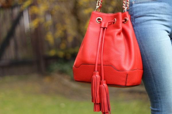 Rebecca Minkoff Tasche & Material Girl Blazer