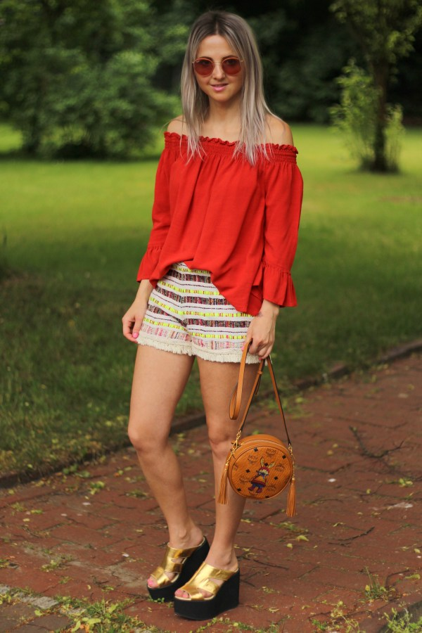 MCM rabbit Tasche, Mango Shorts, Modeblogger aus Hannover, Fashion blog