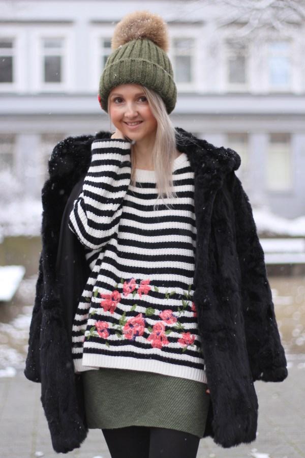 Modeblogger aus Hannover, Promod Pullover Oversize, Hollister Rock