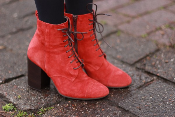 Moncler Mantel, Gucci Marmont Tasche, Modeblogger aus Hannover