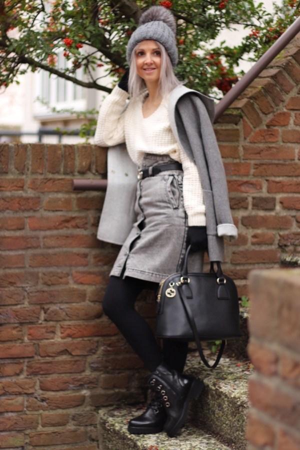Modeblogger aus Hannover, Gucci Tasche, Massimo Dutti Mantel, Hollister Pullover