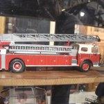 Ladder truck toy