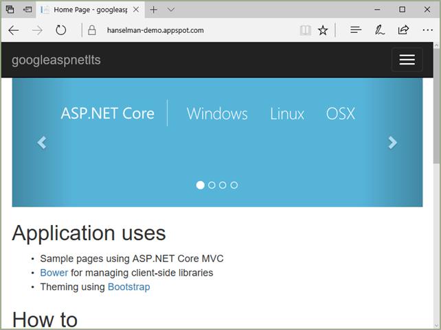 ASP.NET on Google Cloud