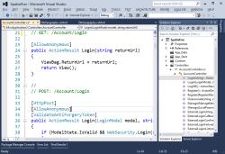 Visual Basic 2012 Photo